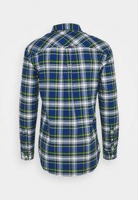 Tommy Jeans - OXFORD CHECK - Camicia - providence blue/multi - 4