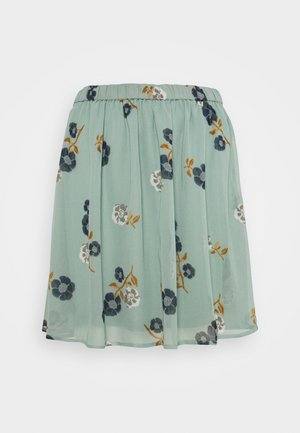 VMFALLIE SHORT SKIRT  - Mini skirt - green milieu/newfallie