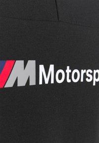 Puma - BMW TEE - Print T-shirt - black - 2