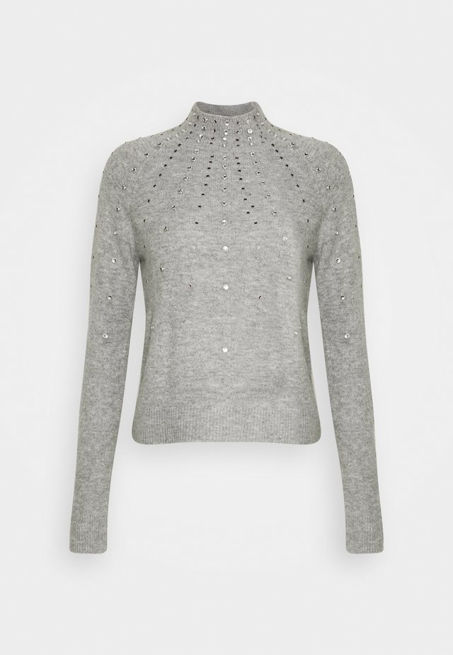 PETITES EMBELLISHED JUMPER - Sweter - light grey