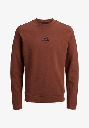 JPRBLADEAN CREW NECK - Sweater - hot chocolate