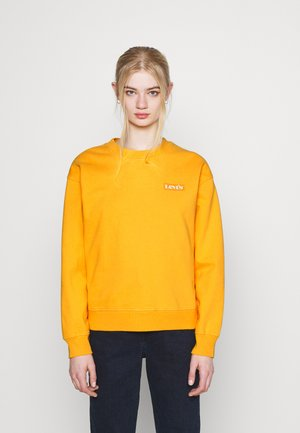 GRAPHIC STANDARD CREW - Sweater - kumquat