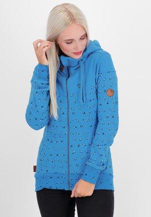 Zip-up hoodie - cobalt