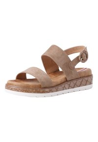 s.Oliver - Sandals - taupe - 2
