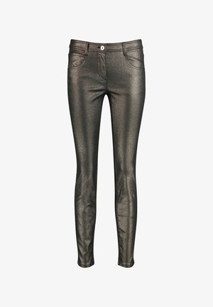 Jeans Skinny Fit - antique gold metallic