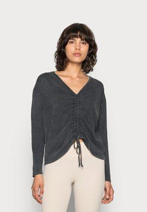 HANKY  - Long sleeved top - dark shadow