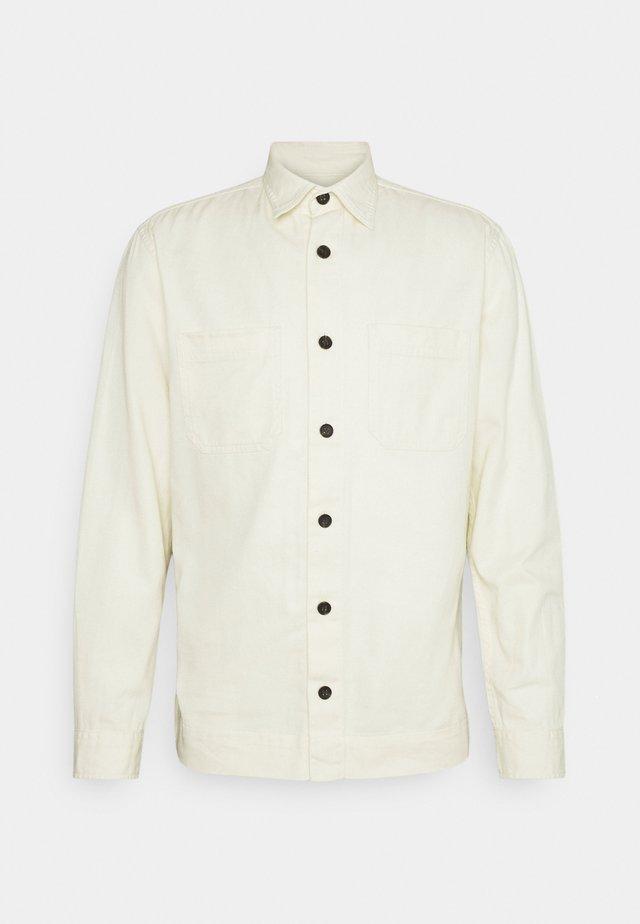 JPRBLALINEN - Camicia - whisper white