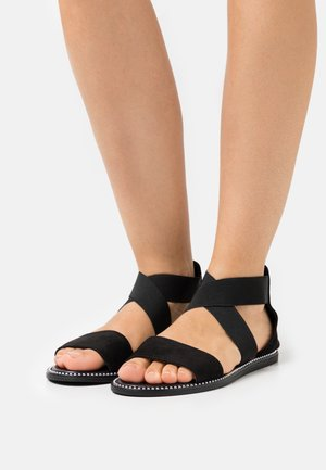 WIDE FIT JOANNE - Sandali - black