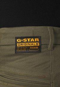 G-Star - WELD HIGH SLIM WMN - Chinos - khaki - 4