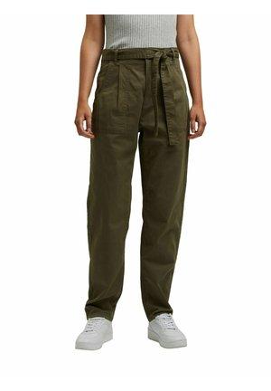 PAPERBAG - Trousers - dark khaki