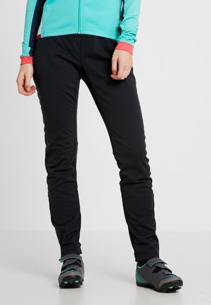 WOMENS WINTRY PANTS IV - Pantalones montañeros largos - black