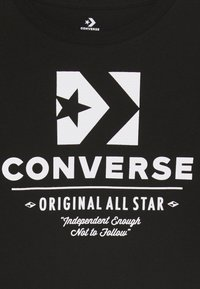Converse - ORIGINALS WORDMARK TEE - T-shirt à manches longues - black