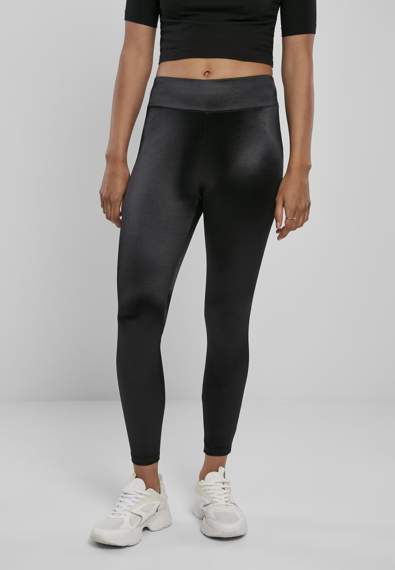 Urban Classics - Leggings - Trousers - black