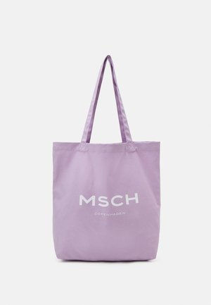 ORGANIC LOGO SHOPPER - Shoppingveske - lavender