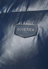 Duvetica - AUVATRE - Bunda zprachového peří - blu scuro - 6