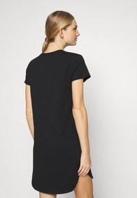 Calvin Klein Underwear - LOUNGE NIGHTSHIRT - Negligé - black - 2