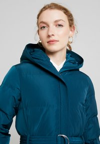 Anna Field - Trench - teal - 3