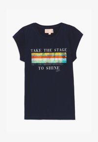 Vingino - HARSINA - Print T-shirt - dark blue - 2