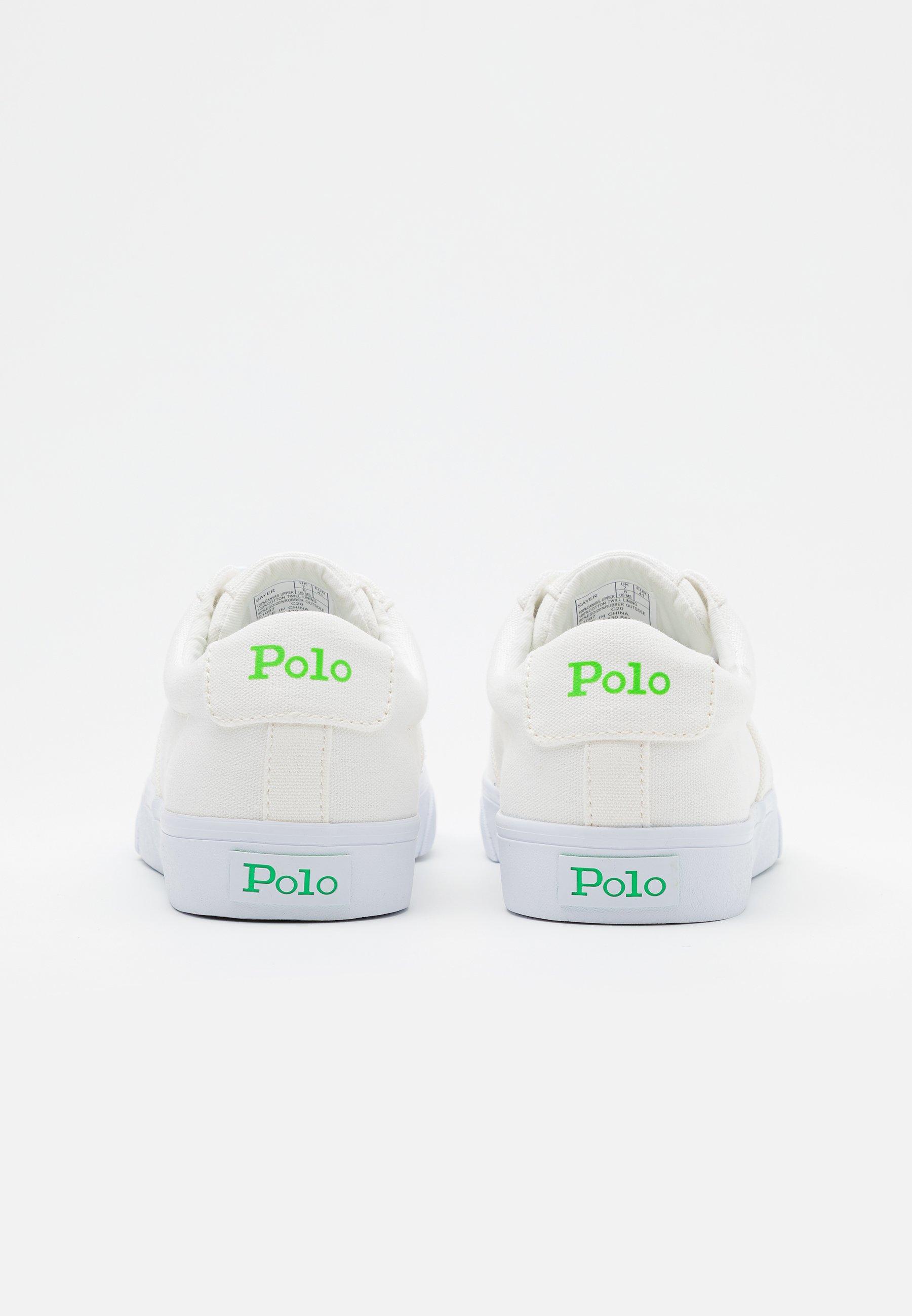 Fantastisk Pris Herresko Polo Ralph Lauren SAYER Joggesko white/neon green MfojsdE7
