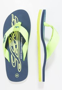 LICO - FLAMENCO - T-bar sandals - marine/lemon - 0