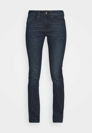 Slim fit jeans - clean dark stone blue denim