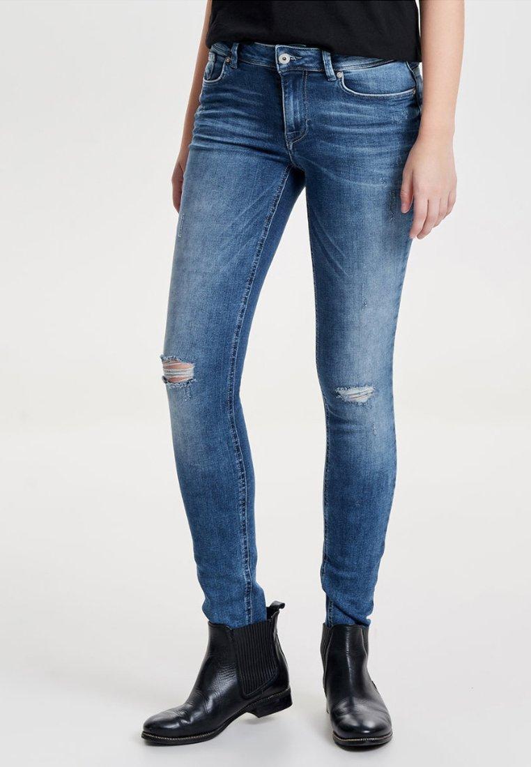 ONLY - CARMEN  - Jeans Skinny Fit - medium blue denim