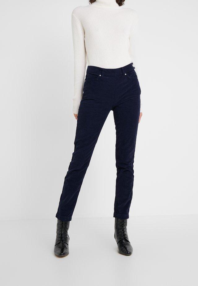 JEANETT TROUSERS - Spodnie materiałowe - dark blue
