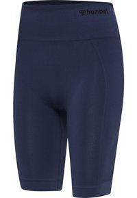 Hummel - SEAMLESS - Shorts - black iris - 1
