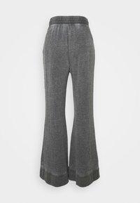 Free People - COZY COOL LOUNGE PANT - Pantalones deportivos - washed black - 1