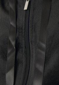 Gina Tricot - CECILIA HOODIE - Mikina na zip - black - 2