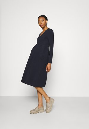 CHARLOTTE DRESS - Jerseyjurk - midnight blue