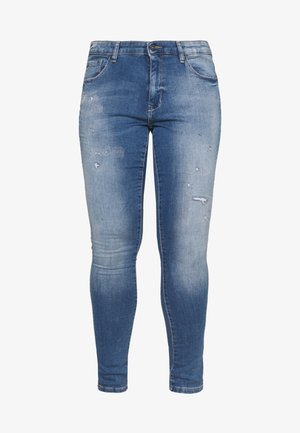 CARCARMA LIFE REG - Skinny-Farkut - light blue denim