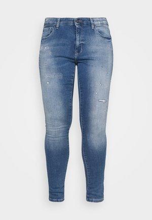 CARCARMA LIFE REG - Jeans Skinny Fit - light blue denim