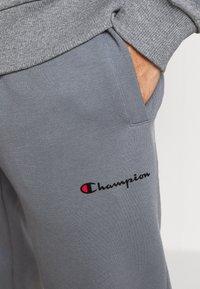Champion - ELASTIC CUFF PANTS - Tracksuit bottoms - grey - 4
