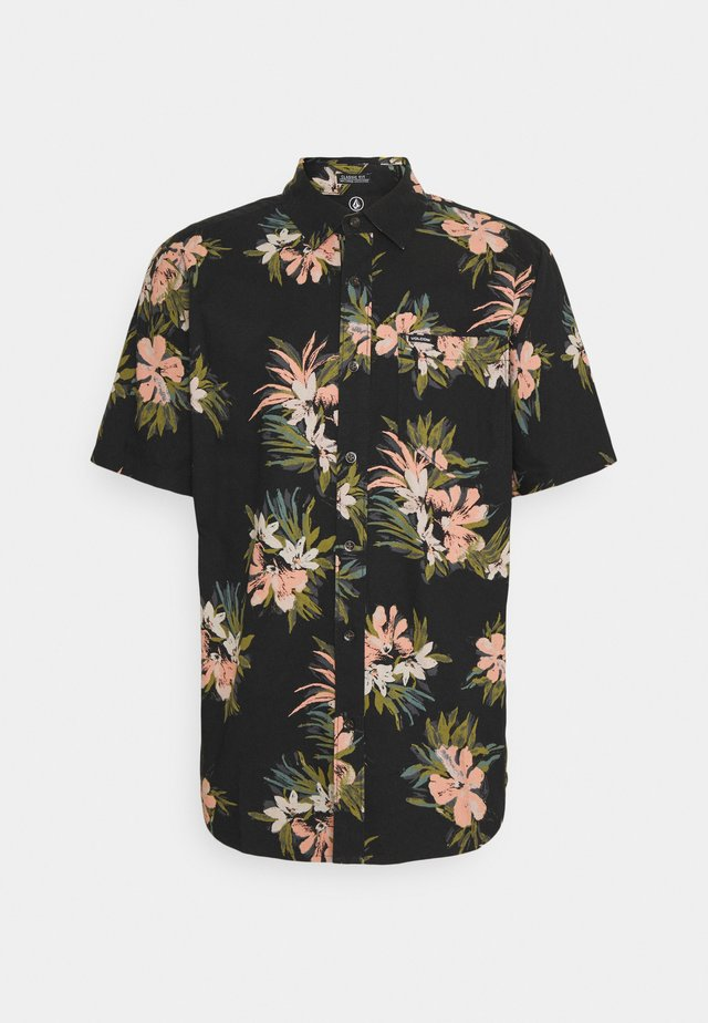 FLORAL WITH CHEESE - Chemise - black
