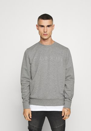 TONE LOGO  - Sweatshirt - mid grey heather