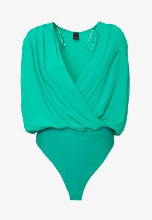 INES BODY HABOTAI - Blouse - green