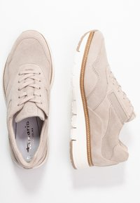 Tamaris Pure Relax - LACE-UP - Sneakersy niskie - beige - 3