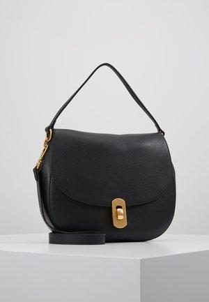 ZANIAH SHOULDER FLAPOVER - Handbag - noir