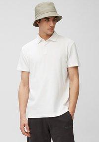Marc O'Polo - SHORT SLEEVE - Polo shirt - white - 0