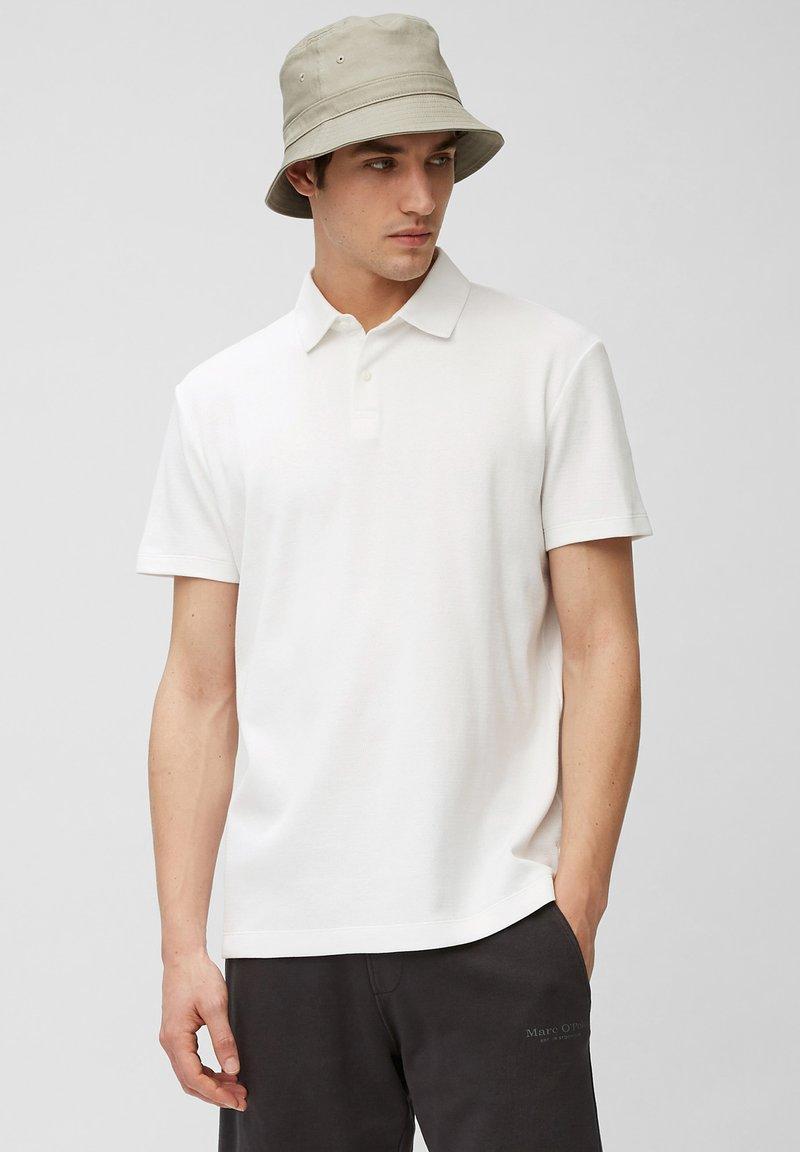 Marc O'Polo - SHORT SLEEVE - Polo shirt - white