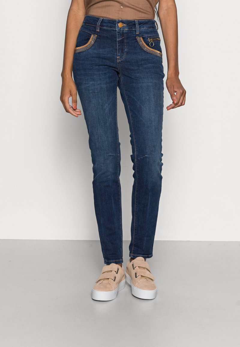 Mos Mosh - SHADE BLUE JEANS - Jeans Skinny Fit - blue