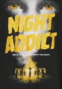 Night Addict - NASTRANGERS - T-shirt con stampa - black - 2
