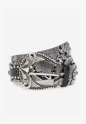 Belt - white/black