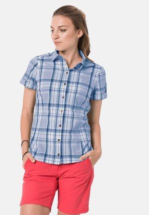MARONI RIVER SHIRT W - Button-down blouse - shirt blue checks