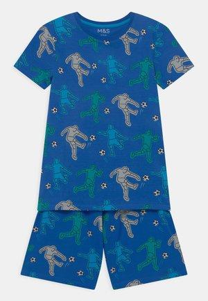 FOOTBALL - Pyjama set - medium blue