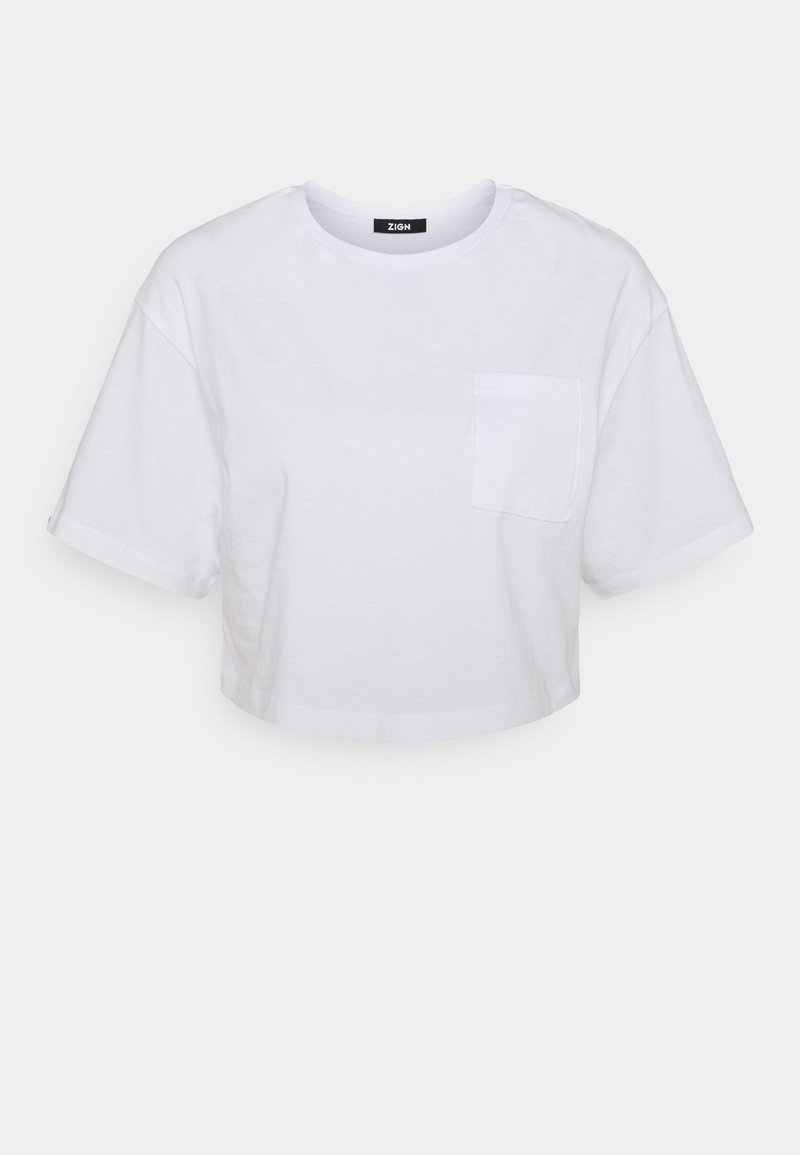 Zign - Basic T-shirt - white