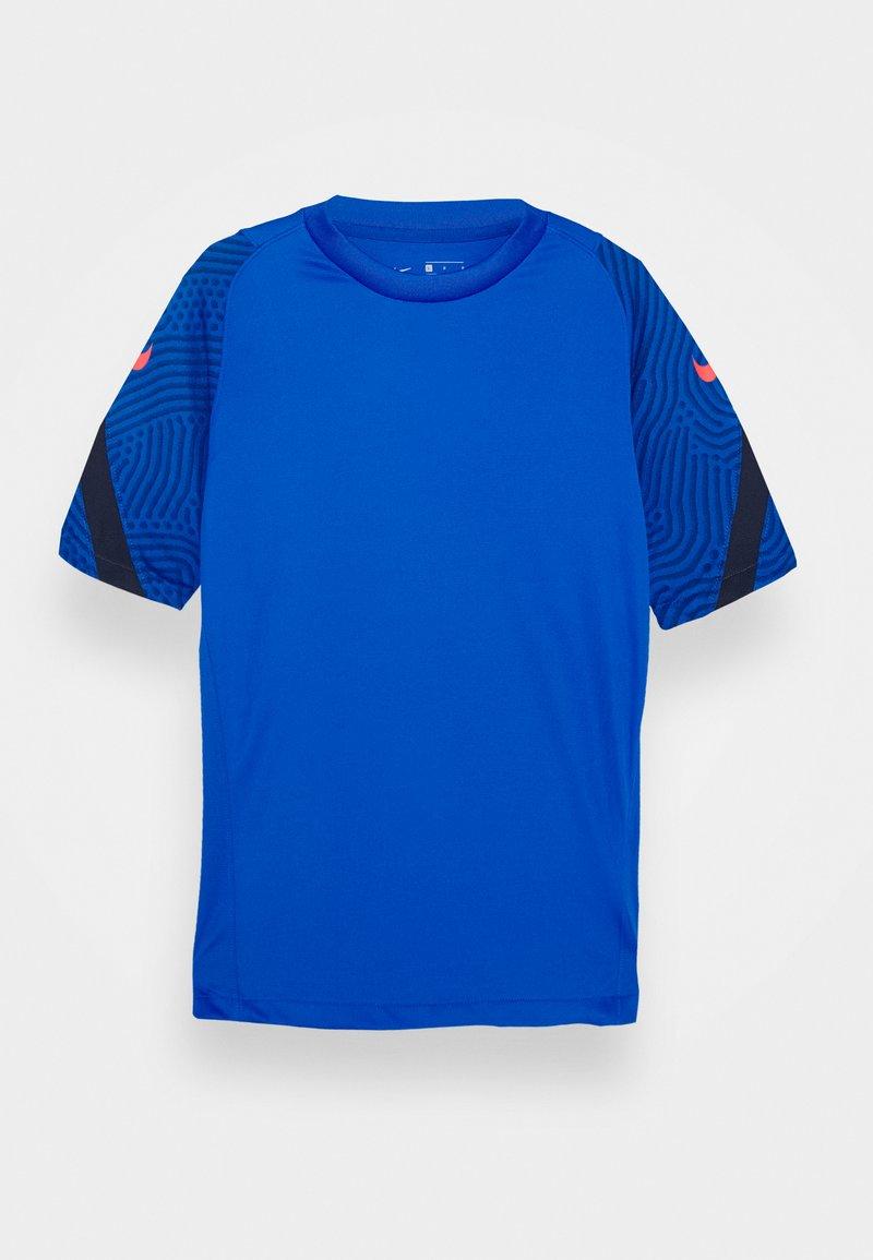 Nike Performance - Triko spotiskem - soar/midnight navy/laser crimson