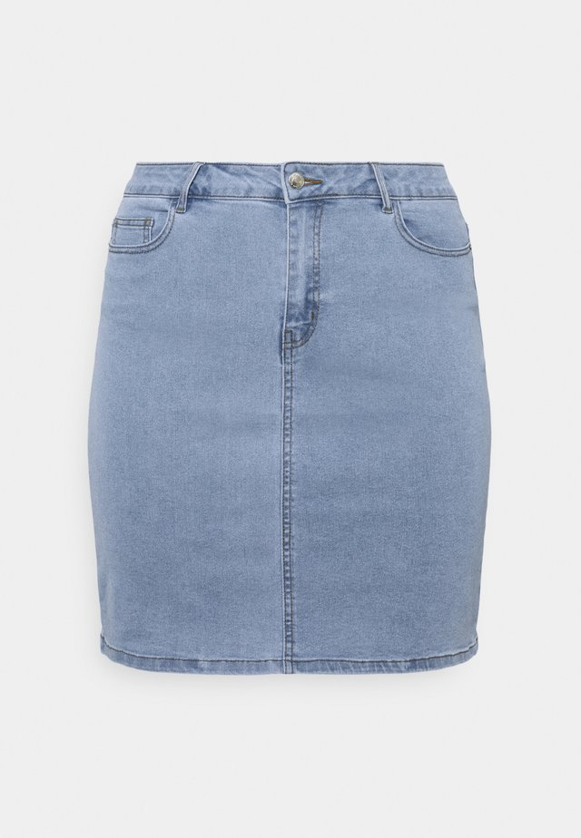VMHOT PENCIL SKIRT - Minigonna - light blue denim