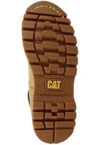 Cat Footwear - COLORADO - Botines con cordones - honey - 4